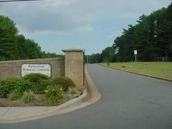 Rutherford Memorial Cemetery