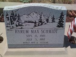 Hyrum Max Schmidt