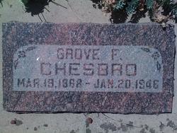 Grove F Chesbro