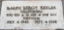 """PFC Ralph Leroy """"Flash"""" Keeler"""