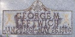 George Madison Leftwich