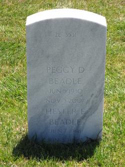 Peggy D Beadle