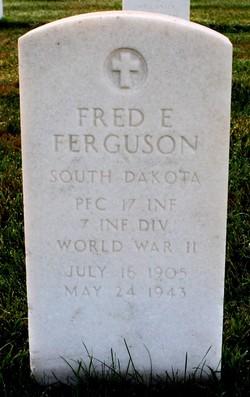 Fred E Ferguson