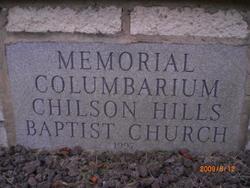 Chilson Hills Baptist Church Memorial Columbarium