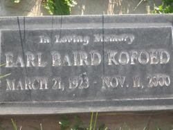 Earl Baird Kofoed