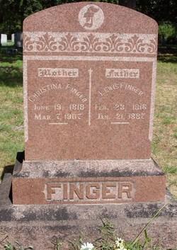 Christina <I>Pless</I> Finger