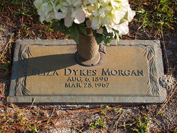 Eliza Jane <I>Dykes</I> Morgan