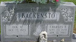 Charles E Backensto