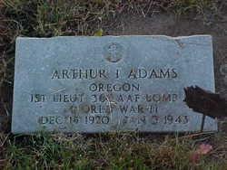 Arthur I Adams