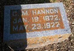 Charles Monroe Hannon