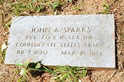 John Adams Sparks, Sr