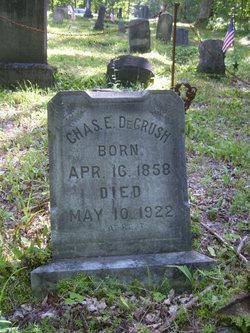 Charles E Degrush