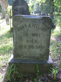 Mary A <I>Weller</I> Degrush