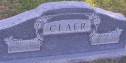 "William F ""Bill"" Claer"