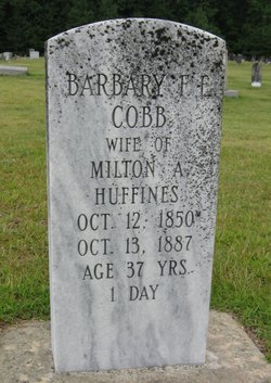 Barbara Frances Eveline <I>Cobb</I> Huffines