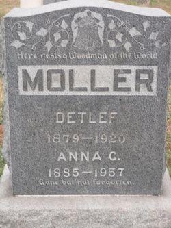 Anna <I>Dopheide</I> Moller