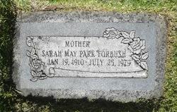 Sarah May <I>Park</I> Forbush