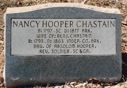 Nancy <I>Hooper</I> Chastain