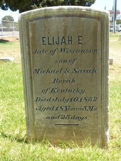 Elijah E Borah