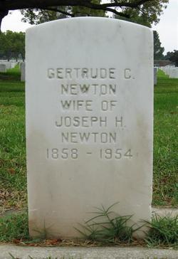 Gertrude Charlotte <I>Gamble</I> Newton