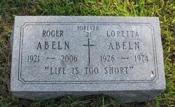 Loretta <I>Brundick</I> Abeln