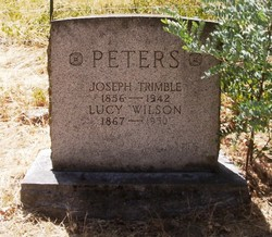 Lucy <I>Wilson</I> Peters