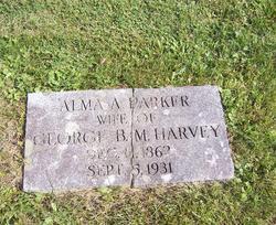 Alma Arabella <I>Parker</I> Harvey