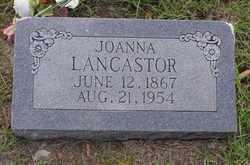 Joanna <I>Byrd</I> Lancastor