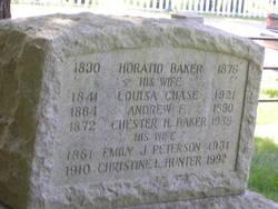 Louisa <I>Chase</I> Baker