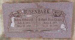 Mary Ethel <I>Fordham</I> Busenbark