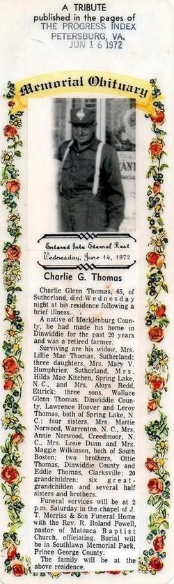 Charlie Glenn Thomas