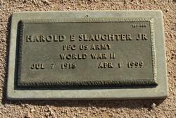Harold E Slaughter, Jr