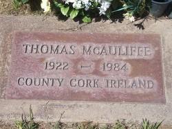 "Thomas ""Tom"" McAuliffe"