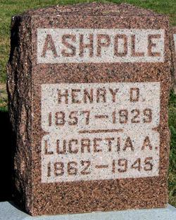 Lucretia Abigail <I>Pearson</I> Ashpole