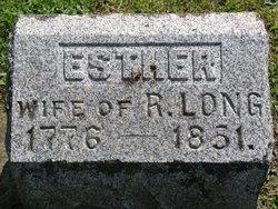 Esther <I>Bingham</I> Long