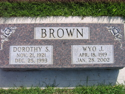 Dorothy <I>Snyder</I> Brown