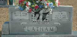 Betty Ann <I>Hester</I> Latham