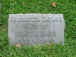 Georgetta <I>Taylor</I> Eads
