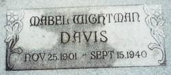 Mabel <I>Wightman</I> Davis