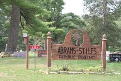 Abrams - Stiles Catholic Cemetery