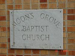 Moons Grove Baptist Church Cemetery