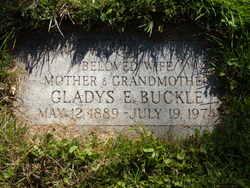 Gladys E Buckle