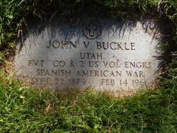John V Buckle