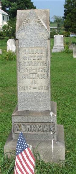 Sarah <I>Workman</I> Beattie