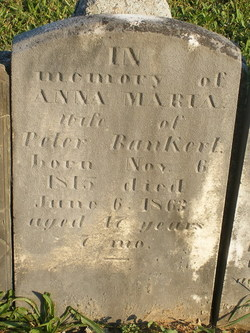 Anna Maria <I>Humbert</I> Bankert
