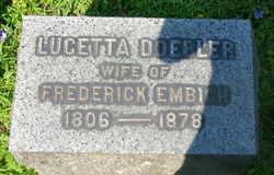 Lucetta <I>Doebler</I> Embich