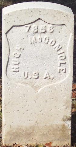 Pvt Hugh McGonigle