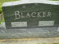 Vaneta <I>Pfeiffer</I> Blacker