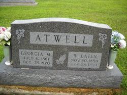 Georgia Myrtle <I>Morlan</I> Atwell
