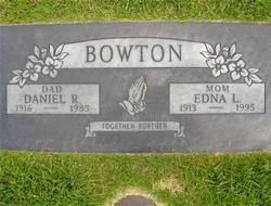 Edna Laura <I>Walters</I> Bowton